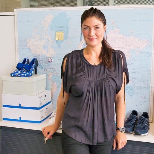 """d3d3b1eb7bd6 Dizajnérka Josephine Aberg  """"Dnešné módne móla sú inšpirované športom."""""""